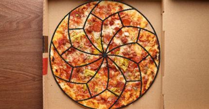 數學家終發現「最公平、完美切披薩」正確方法 照著弧度切24塊都沒問題