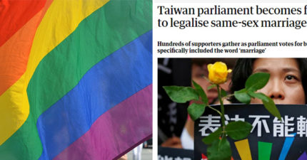 歷史性一天!關鍵「第4條」通過「彩虹戀人可登記結婚」 外媒搶報:最具進步意義法案!