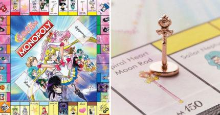 國外廠商推「美少女戰士版」大富翁 「超精緻細節」引暴動:不買會被月光仙子懲罰❤