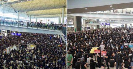 機長暖心喊「香港人加油」慘被解僱 國泰航空證實:他已經和我們無關