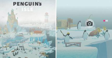療癒系手遊《企鵝島》爆紅!超萌企鵝「緊緊包圍」連海豹都來做客 秒被激發少女心❤