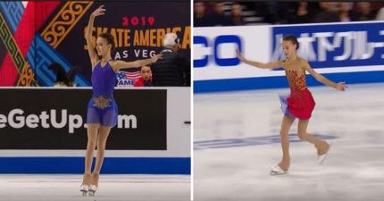 影/換裝超驚豔!15歲俄國滑冰美少女完美換裝 邊轉圈「邊燃燒」效果美炸:真的是公主變身