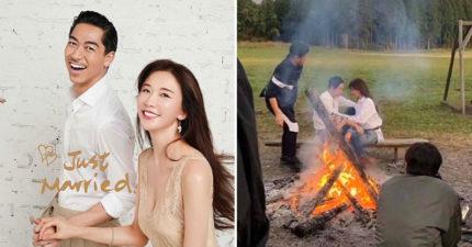 林志玲、AKIRA「婚紗側拍」浪漫曝光 女神選在「台南」辦婚禮…背後原因太感人!