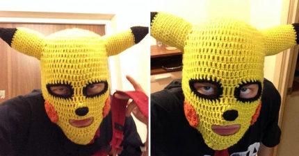 貼心媽買「寶可夢保暖頭套」 2天後「收到包裹」他傻眼:真的是皮卡丘!