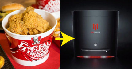 肯德基推出「電競主機」全家桶 打開機關「馬上加熱」晚餐