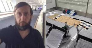 衰男因武肺慘變「機場地縛靈」 官方爆料:他自己不上飛機的!