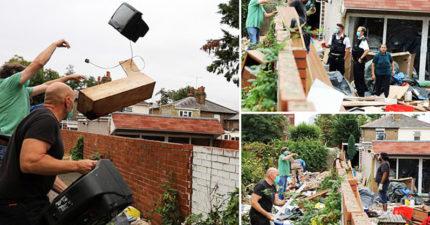 惡鄰居把自己家「當垃圾場」 烙人上演「超狂互丟大戰」!