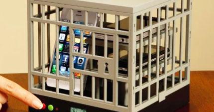 專治低頭族!聚餐靠「手機監獄」規定服刑時間 「逃獄」還會有特效