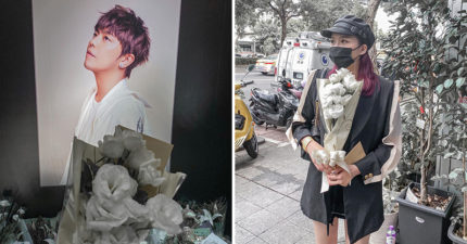 網紅出席「小鬼追思會」拍美照打卡 被罵「不尊重」她PO文反嗆