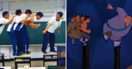 高中生拍「真人版花木蘭」7年後爆紅 神還原比迪士尼還專業