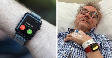 67歲獨居伯「浴室滑倒」沒人知 醒來感嘆:被Apple Watch救一命