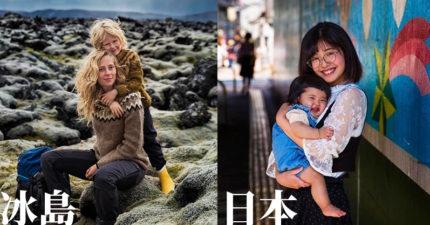 攝影師環遊世界「拍下各國母親」證明母愛才是最美風景!