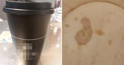 喝完「剩餘半杯咖啡」發現杯底異物 一調監視器:嫌犯目睹我喝完!
