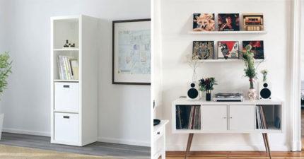 14個「改造IKEA家具」超神手作品 板凳→超夢幻大樹貓跳台!