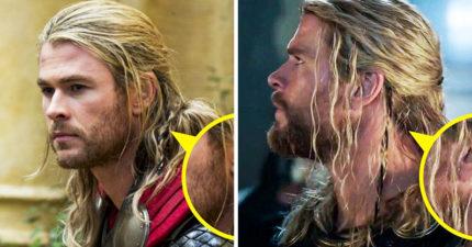 10部「透過髮型說秘密」的電影 索爾長髮「卡了洋蔥」QQ