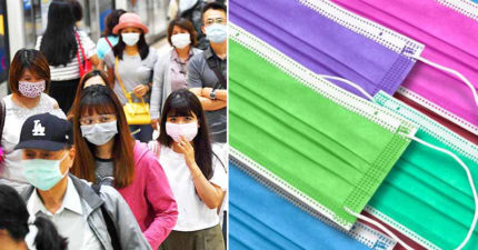 彩色口罩驚傳有毒?醫師破迷思:「3種顏色」最安全