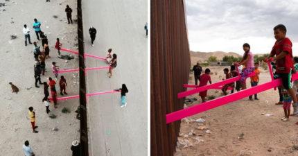 橫跨美墨兩國的「邊界蹺蹺板」 只花20分鐘「奪2020設計大獎」