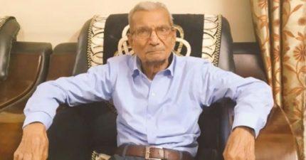 85歲印度翁確診「自願讓出病床」 「年輕人的命更重要」回家3天不在了