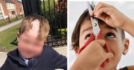 4歲兒放學回家「頭頂缺一塊」 媽媽怒控老師:已經第5次