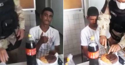 影/18歲這天被抓 警幫竊賊「慶生」還拍片PO網:轉大人囉