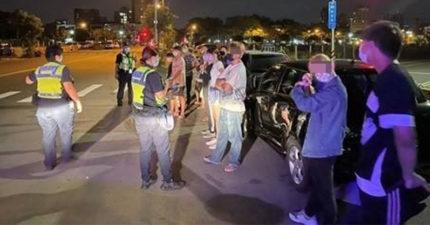 台中14男女半夜「約重劃區尬聊」 群聚被抓還想溜!警包抄逮人